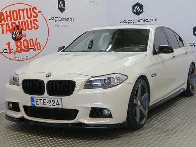 käytetty BMW 535 i M-Sport 306hv A / Prof.Navi / Nelipyöräohajus / Kamera / HiFi / Bilstein alusta / Rahoitus / Vaiht