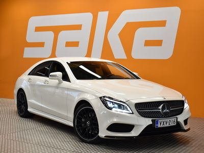 käytetty Mercedes CLS350 d 4Matic 9gtronic AMG-Styling ** 2.Om Suomi-auto / Webasto / H&K / Airmatic / 360-Kamera / Distron...