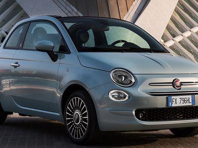 käytetty Fiat 500 1,0 70hv Hybrid MT Lounge Panorama