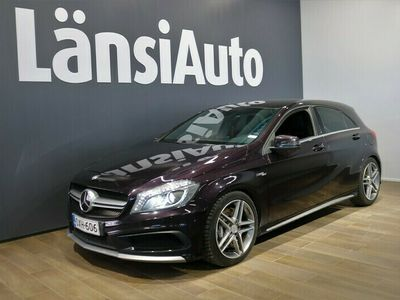käytetty Mercedes A45 AMG A 45 Amg 4MaticP. Kamera, Iso huolto tehty
