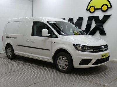 käytetty VW Caddy Maxi umpipakettiauto 2,0 TDI 75kW DSG / Ruotsi-auto / Webasto / Koukku / Vakionopeudensäädin /
