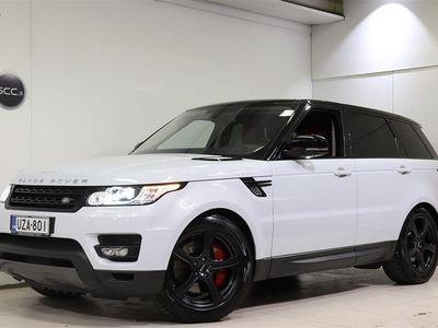 käytetty Land Rover Range Rover Sport 3,0 SDV6 HSE Dynamic, Webasto, Navigoint, Yulong White metalliväri, Peruutuskamera,.