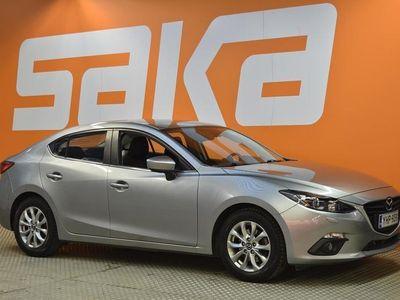 käytetty Mazda 3 Sedan 2,0 (120hv) SKYACTIV-G Premium 6MT 4ov ** Vähän ajettu / Lohkolämmitin / Bluetooth / 2-om. Suo