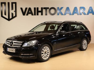 käytetty Mercedes C220 CDI BE Avantgarde A # Navi, Parkkitutkat, Hieno #