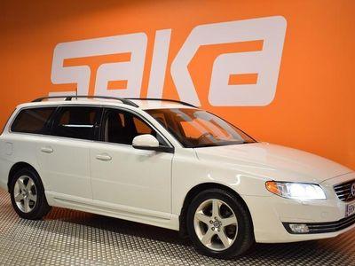 käytetty Volvo V70 D4 Momentum aut **Nahkasisusta / Sähköluukku / Suomi-Auto**