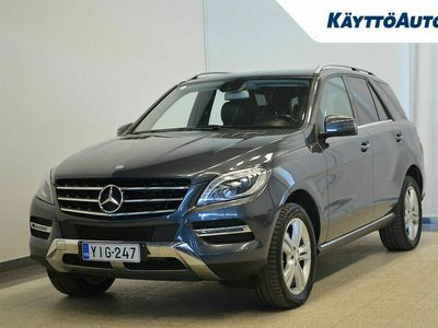 käytetty Mercedes ML250 BLUETEC 4MATIC PREMIUM BUSINESS SUOMI-AUTO 2.