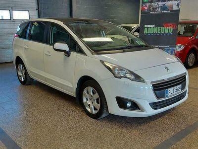 käytetty Peugeot 5008 Active BlueHDi 120 7-p *AUT.ILMASTOINTI / CRUISE / VETOKOUKKU*