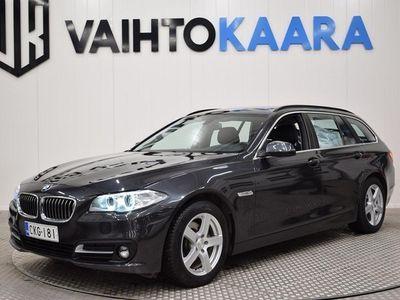 käytetty BMW 520 D Aut. XDrive F11 Touring Bsn Excl Edt # Webasto, Sportnahat, Sähkötakaluukku, Neliveto #