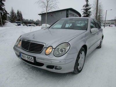 käytetty Mercedes E240 4Matic Elegance 4d Aut - Rahoitus jopa ilman käsirahaa