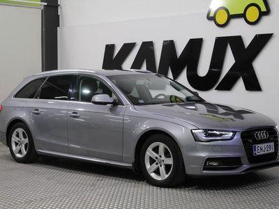 käytetty Audi A4 Avant 2,0 TDI clean diesel 140 kW quattro S tronic / S-LINE / 1-OMISTAJA / SÄHKÖLUUKKU /
