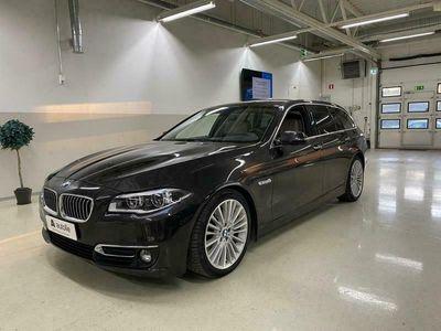 käytetty BMW 535 *NÄYTTÄVÄ* *LUXURY* TwinPower Turbo Luxury Kotiin toimitettuna, Tarkastettuna, Rahoituksella