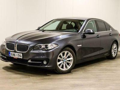 käytetty BMW 518 518 F10 Sedan d A Business Exclusive Edition - Suomi-Auto, Ratinlämmitin, Nahkasisusta, Sport-Istuimet