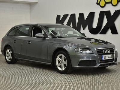 käytetty Audi A4 Avant 2,0 TDI DPF multitronic Business Plus ## Webasto kaukosäädöllä # Bi-Xenon # Hyvät talvirenkaat