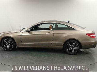 käytetty Mercedes E250 Coupé Välservad T-Lucka Skinn 204hk