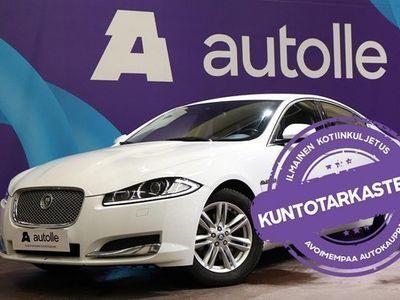 käytetty Jaguar XF *TYYLIKÄS* 2,2 i4 Td 163 Business A. Katso kilometrit! Katsastettuna, Rahoituksella, Kotiin toimitet