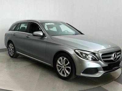 käytetty Mercedes C350e T A Premium Business Automaatti / Navigointi / Sähkökontti / Nahkasisusta / Burmester ++