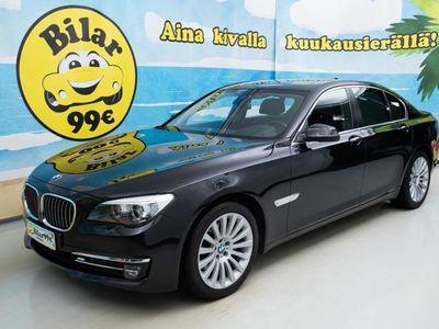 käytetty BMW 740 d xDrive F01 Aut *ADAPT.CRUISE * HUD * IMUOVET * - *0 KORKO 0, BLACK FRIDAY HULLUUTTA!*