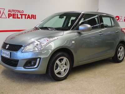 käytetty Suzuki Swift 4WD 1,2 VVT GL 5D *HYVITYS VAIHTOAUTOSTA VÄHINTÄÄN 1500€*