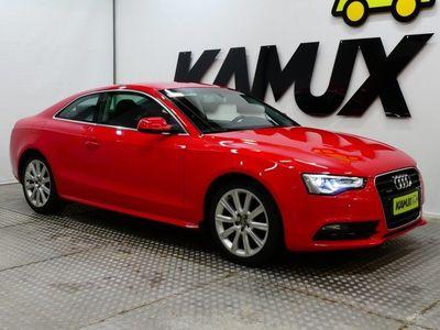käytetty Audi A5 Coupé 2,0 TDI DPF 130 kW quattro / Tyylikäs Coupe / Sporttipenkit / Flat-bottom ratti / Bi-Xenon /
