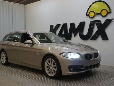 käytetty BMW 520 520 F11 Touring d ** NELIVETO, VAKKARI, SÄHKÖINEN VETOKOUKKU, SPORT NAHAT **