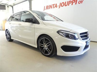 käytetty Mercedes B180 Automatic Edition AMG Line Night *PANORAMA, KEYLESS-GO, SUOMI-AUTO*