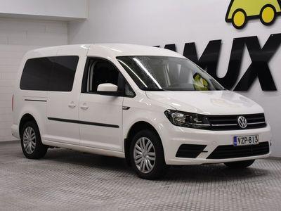 käytetty VW Caddy Maxi Trendline Family 2,0 TDI 75kW / ALV / 1-Omisteinen Suomi-auto / 7-HLÖ / Koukku /