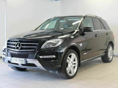 käytetty Mercedes ML350 BlueTec 4Matic A Premium Business (MY12) - Tehokas ja siisti neliveto Mersu maltillisilla kilome