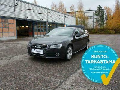 käytetty Audi A5 Sportback *NÄYTTÄVÄ*2.0TFSI quattro Business 155kW Aut. Tarkastettuna, Rahoituksella, Kotiin toimitettuna!