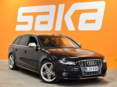 käytetty Audi S4 Avant 3,0 V6 TFSI 245 kW quattro S tronic ** Webasto / Nahat / Kamera / Navi / Bang&Olufsen **