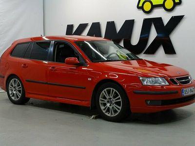 käytetty Saab 9-3 Sport Combi 1,8t Linear M5 / Suomi-auto / Irroitettava koukku / Lohko+sisälämmitin / Kytkinremontti tehty 5/2020! /