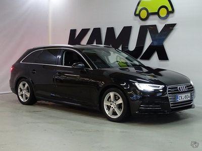 käytetty Audi A4 Avant First Edition Business Sport 2,0 TDI 140 kW quattro S tronic ** Suomi-auto / 1-omistaja / Led-