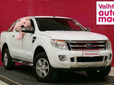 käytetty Ford Ranger 2.2 TDCI Aut Limited ALV *Koukku* *Nahka* *Juuri huollettu* *Cruise*