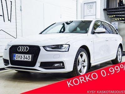 käytetty Audi A4 Avant 2,0 TDI 140kW/190hv Quattro S-LINE, BI-XENON, LOHKO+SP, SPORT-PENKIT, BT, VETOK., 2 X ALUT, SI