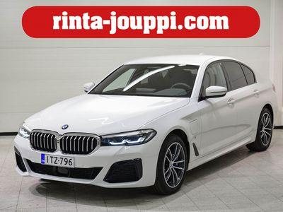 käytetty BMW 530 5-SARJA 5-sarja G30 Sedan 530e xDrive - Uusi e facelift malli nelivedolla.