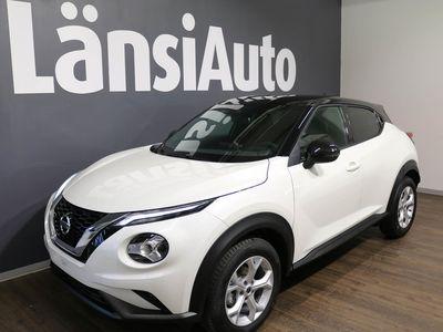 käytetty Nissan Juke DIG-T 117HP 7DCT N-Connecta + Navi + two-tone*talvipaketti hintaan 299€, etusi 1900€*