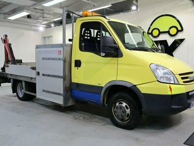 käytetty Iveco Daily 50C14 CNG Avolavakuorma-auto (BA) 2ov 2998cm3 / Alv / Vetokoukku /