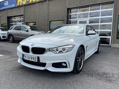 käytetty BMW 428 Gran Coupé 428 2.0 TURBO 245 HV M-SPORT NELIVETO AUTOMAATTI NAHKA/ALCANTARA SPORTPENKIT NAVIGOINTI CRUISE ALUT