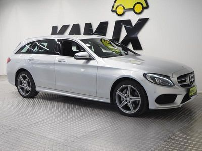 käytetty Mercedes C220 d 4Matic T A Premium Business **AMG styling, NAVI, NELIVETO**