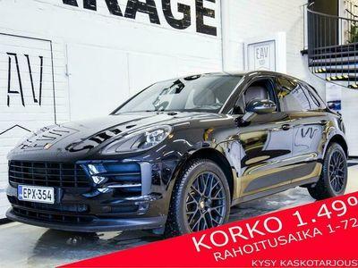 käytetty Porsche Macan Macan2,0T PDK Facelift / Panorama / Navi / 2 x alut / Korko 1,49 %