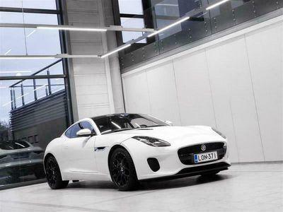 käytetty Jaguar F-Type 2,0 i4 300 Coupé Aut + Navi + Meridian + Panoraamalasikatto + BiXenon + Tutka + Takuu voimassa