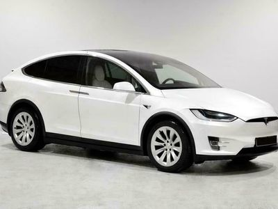 käytetty Tesla Model X *KOTIINTOIMITUS* 75D AWD Enhanced Autopilot / Ilmajouset yms. Tarkastettuna, Rahoituksella, Kotiin t