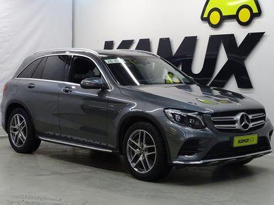 käytetty Mercedes GLC220 d 4Matic A AMG / Tulossa myyntiin / HUD / Vetokoukku / Peruutuskamera / Panoraama