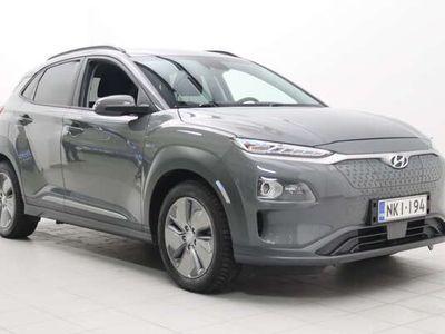 käytetty Hyundai Kona electric 64 kWh 204 hv Comfort / Upea täyssähkö