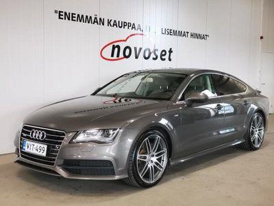 käytetty Audi A7 3.0 V6 TDI 180 KW S-Line Quattro A *HUIPPUSIISTI!* *1,99% KORKO, 220e KASKO, 0e TOIMITUS!*
