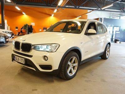 käytetty BMW X3 F25 xDrive20d A Business 140 KW ** 1-om Suomiauto / Nahkaverhoilu / Talvi-paketti / Webasto **