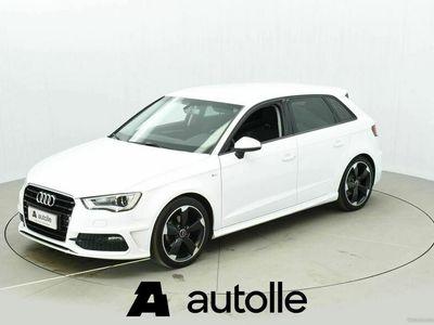 käytetty Audi A3 Sportback *HIENO* Bsn Sport S line Edt 1,4 TFSI 92 A Tarkastettuna, Rahoituksella, Kotiin toimitettuna!