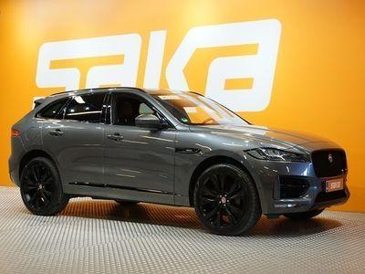 käytetty Jaguar F-Pace 30d AWD Aut R-Sport / Panorama / Tutkat / Nahat / Meridian Hifi / Navi /