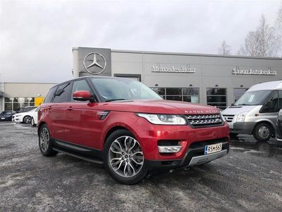käytetty Land Rover Range Rover Sport 3,0 TDV6 HSE ** SUOMI-AUTO / PANORAMA / WEBASTO / VETOKOUKKU **