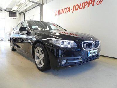 käytetty BMW 518 518 F10 Sedan d A Business Exclusive Edition *1 OM., ALV-väh., VETOKOUKKU, NAHKAVERHOILU*