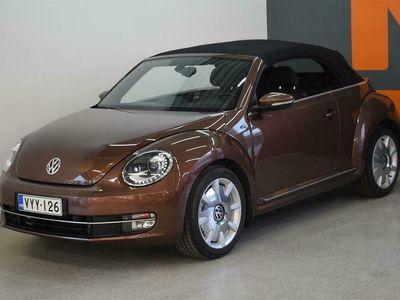 käytetty VW Beetle Cabriolet Allstar 1,2 TSI 77 kW (105 hv) DSG-automaatti